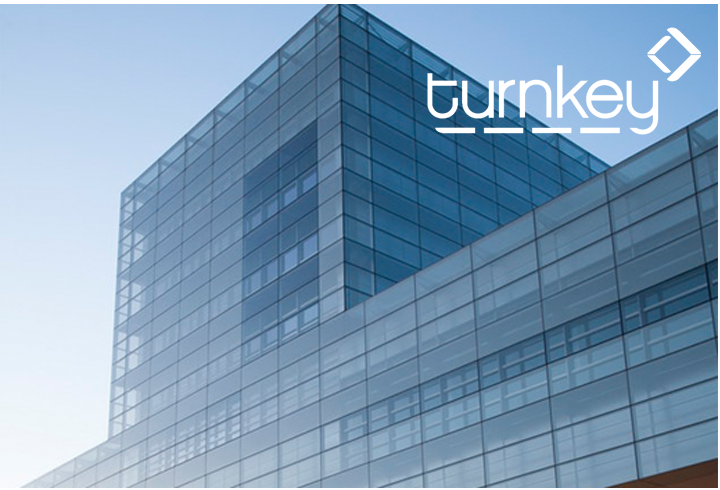 Turnkey glass building