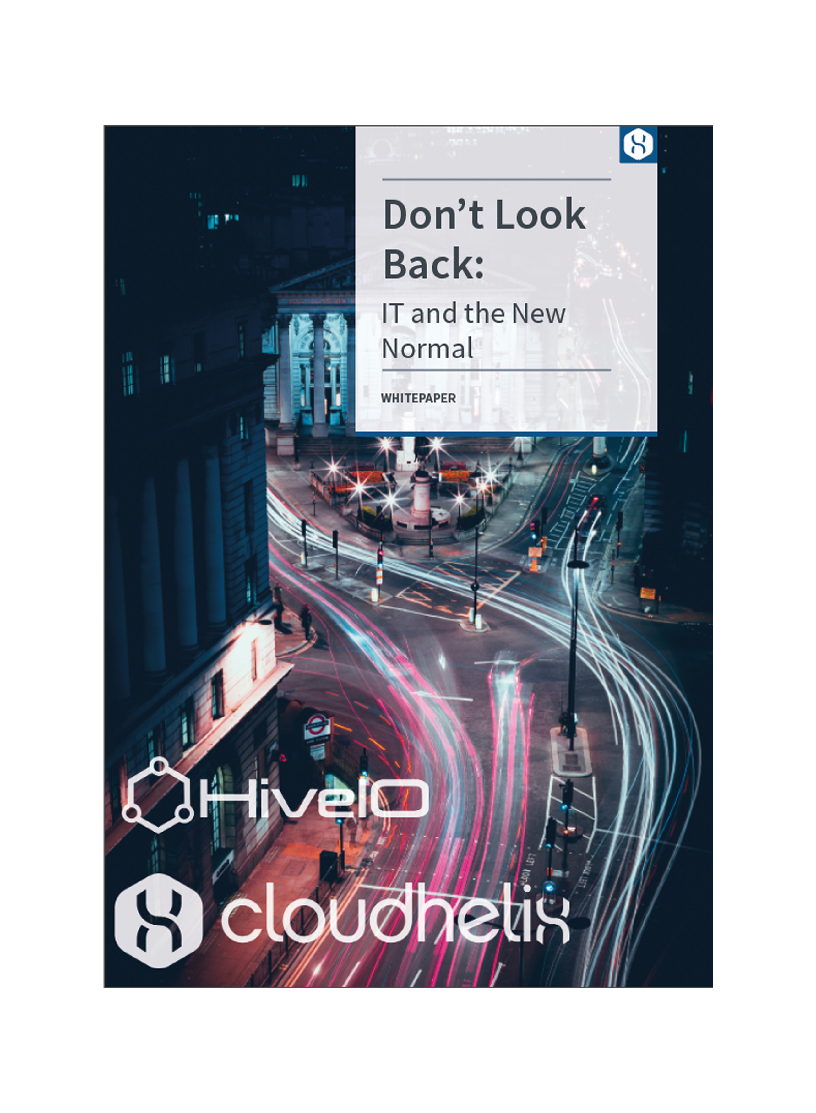 VDI E-book front cover: Don't Look Back: IT and The New Normal